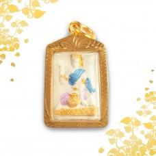 Nang Kwak - Goddess of Prosperity - Deity of all Merchants & Salesmen (Blue Attire)