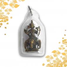 Sacred Buddhism /Hindu Amulet - Four Faced Brahma - God of Creator