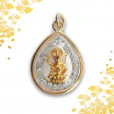 Sacred Buddhism /Hindu Amulet - Four Faced Brahma - God of Creator -